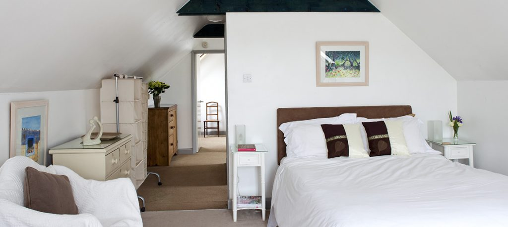Master bedroom Coach House