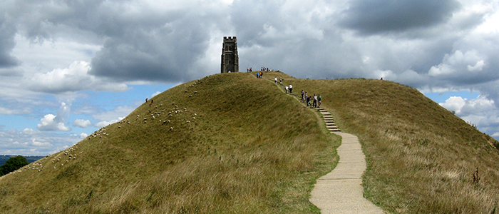 Wells Somerset Glastonbury Tor