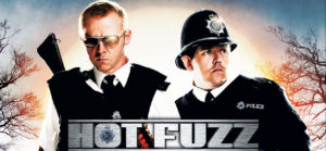 Hot fuzz movie in wells somerset UK